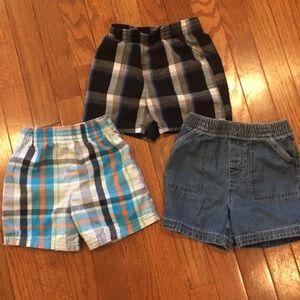 Set of three Garanimals Shorts 18M